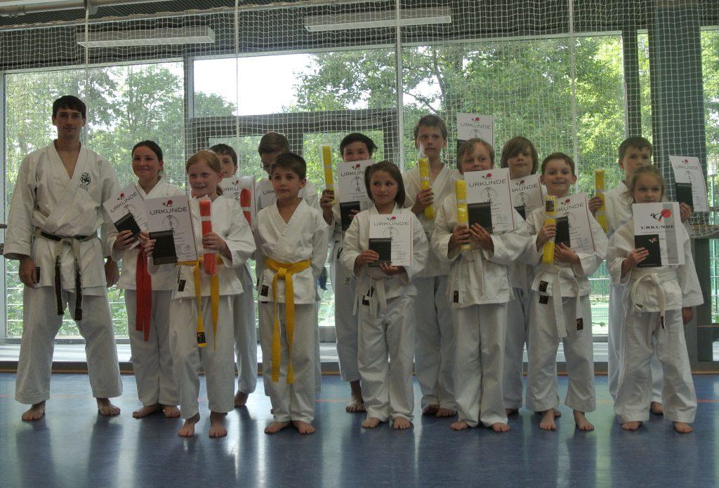 Gürtelprüfung Karate