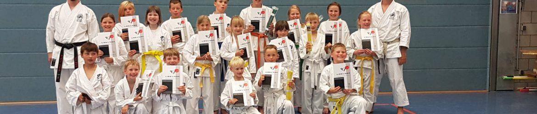 Gürtelprüfung Karate Nossen 2019